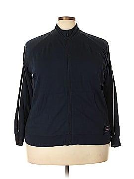 Liz Claiborne Track Jacket Size 2X (Plus)