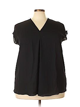 Lauren by Ralph Lauren Short Sleeve Blouse Size 2X (Plus)