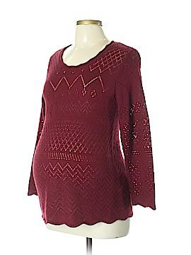 Mimi Maternity Pullover Sweater Size L (Maternity)