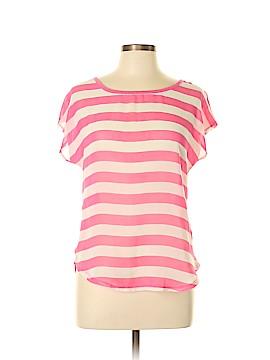 Rewind Short Sleeve Blouse Size L
