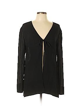 Amanda Smith Silk Cardigan Size L
