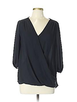 Soprano 3/4 Sleeve Blouse Size L