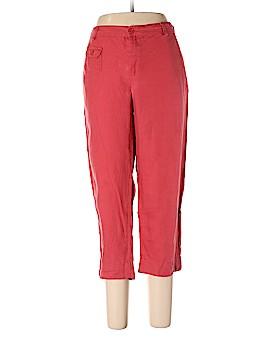 Cynthia Rowley TJX Linen Pants Size 12
