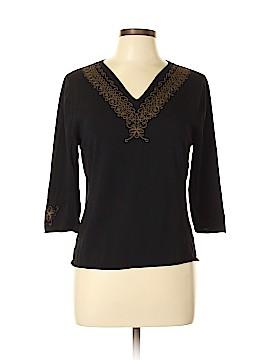 Francesca's 3/4 Sleeve Top Size L