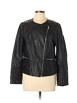Apt. 9 Faux Leather Jacket Size L