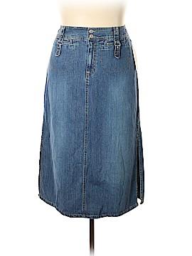 Faded Glory Denim Skirt Size 32 (Plus)