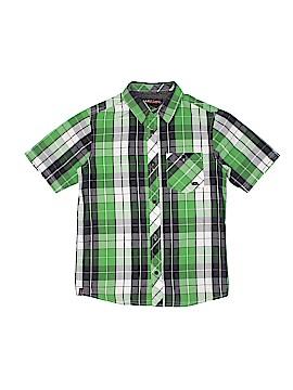 Hawk Short Sleeve Button-Down Shirt Size 10 - 12
