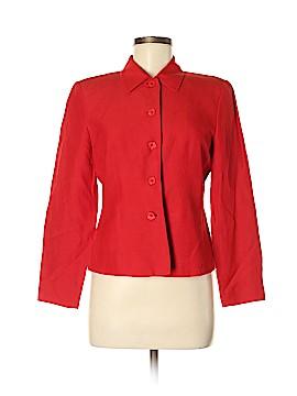 Josephine Chaus Silk Blazer Size 8