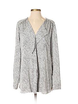 Ann Taylor Long Sleeve Blouse Size 8