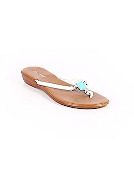 Mila Paoli Flip Flops Size 9