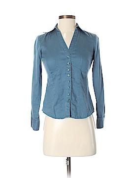 Ann Taylor LOFT Long Sleeve Button-Down Shirt Size 00