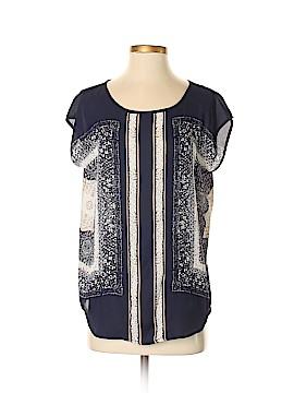 Cynthia Rowley TJX Short Sleeve Blouse Size S