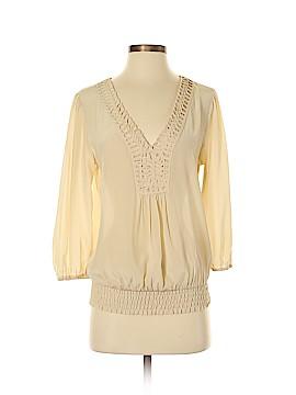 Daniel Rainn 3/4 Sleeve Silk Top Size XS