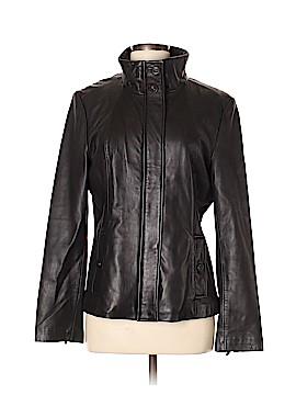 Calvin Klein Leather Jacket Size M