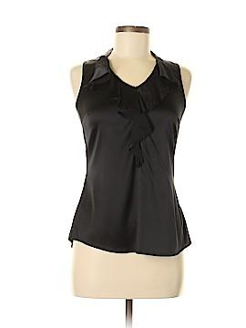 White House Black Market Sleeveless Silk Top Size S