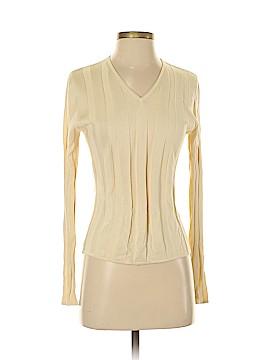 Banana Republic Long Sleeve Silk Top Size S