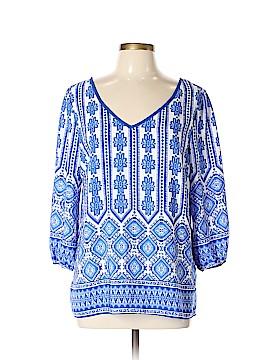 Myan 3/4 Sleeve Blouse Size L