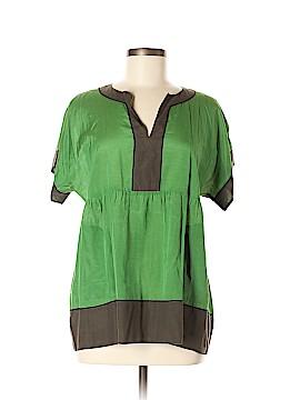 PureDKNY Short Sleeve Blouse Size M