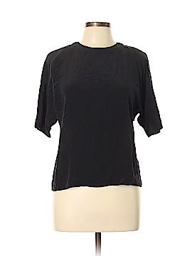 Ellen Tracy Short Sleeve Silk Top Size 10