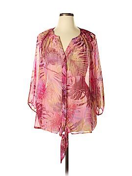 Jaclyn Smith 3/4 Sleeve Blouse Size 3X (Plus)