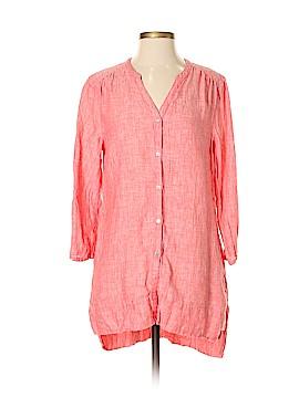Kenar 3/4 Sleeve Button-Down Shirt Size M