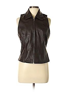 Ann Taylor LOFT Leather Jacket Size M