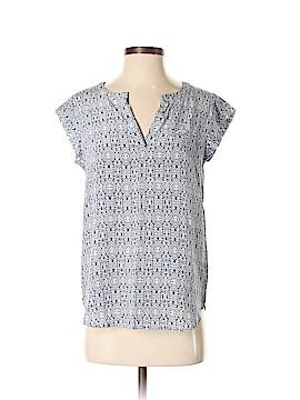 Cynthia Rowley TJX Short Sleeve Silk Top Size S