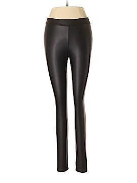 Aqua Faux Leather Pants Size M
