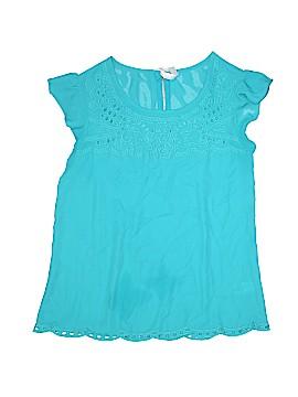 Xhilaration Short Sleeve Blouse Size S