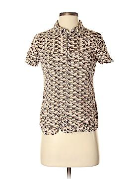 Brooklyn Industries Short Sleeve Button-Down Shirt Size S