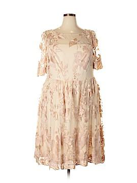 Adrianna Papell Cocktail Dress Size 18W (Plus)