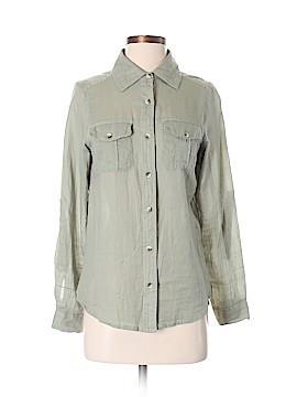Japna Long Sleeve Button-Down Shirt Size S