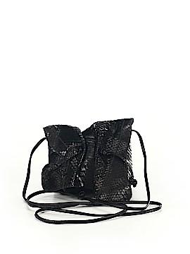 Carlos Falchi Leather Crossbody Bag One Size