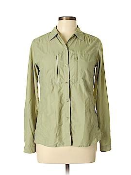 ExOfficio Long Sleeve Button-Down Shirt Size 8 - 10