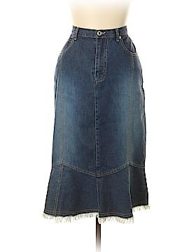 Just Blu Denim Skirt Size 10