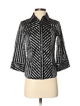 Suzy 3/4 Sleeve Button-Down Shirt Size XS