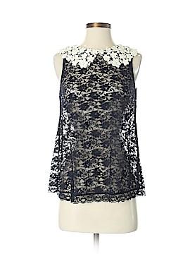 E by Eloise Short Sleeve Blouse Size XS