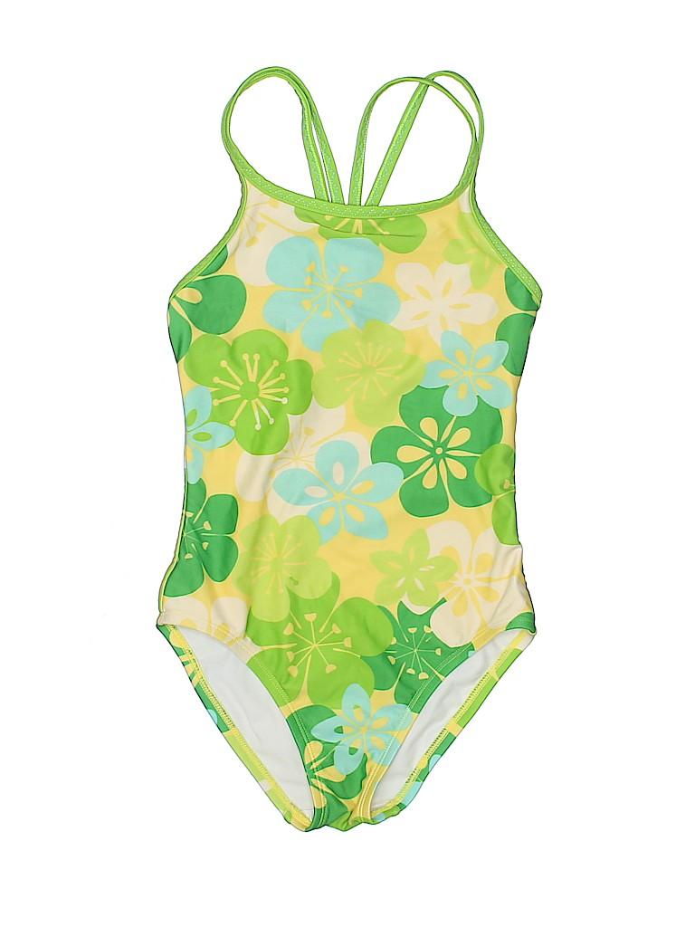 583ddf66d867c L.L.Bean Tropical Green One Piece Swimsuit Size 8 - 83% off | thredUP