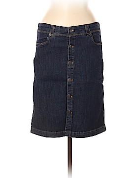 G.H. Bass & Co. Denim Skirt Size 8