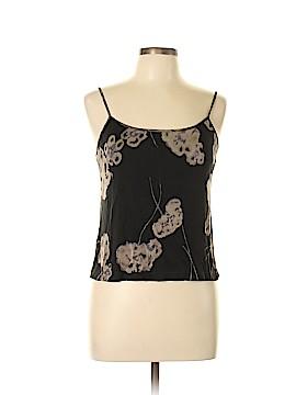 BCBGMAXAZRIA Sleeveless Silk Top Size L