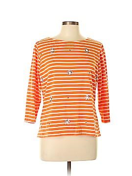 Ruby Rd. 3/4 Sleeve T-Shirt Size L (Petite)