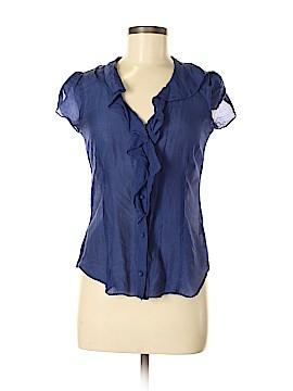 Banana Republic Factory Store Short Sleeve Silk Top Size XS