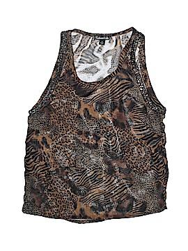 Fashion Web Sleeveless Blouse Size S