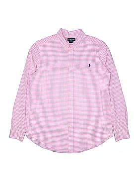 Ralph Lauren Long Sleeve Button-Down Shirt Size 18 - 20