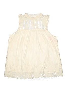 Xhilaration Sleeveless Blouse Size XL