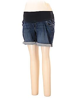 Indigo Blue Denim Shorts Size 1X (Maternity)