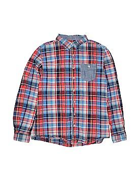 Cherokee Long Sleeve Button-Down Shirt Size 16