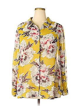 Liz Claiborne Long Sleeve Blouse Size 3X (Plus)