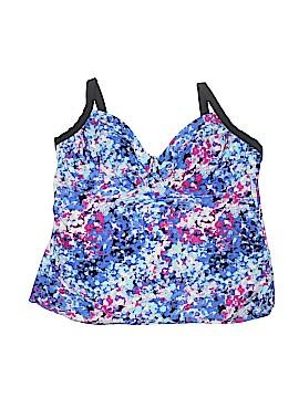Delta Burke Swimsuit Top Size 20 (Plus)