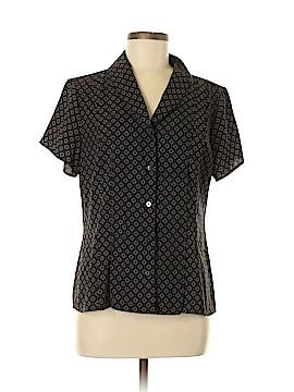 Croft & Barrow Short Sleeve Blouse Size M